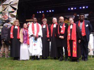 die beteiligten Pfarrer